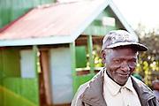 NAIROBI, KENYA – MARCH 10, 2010: Portrait of an African man.