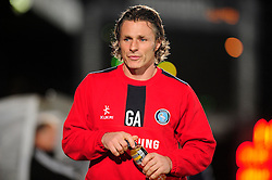 Wycombe Wanderers Manager, Gareth Ainsworth - Photo mandatory by-line: Joe Dent/JMP - Tel: Mobile: 07966 386802 08/10/2013 - SPORT - FOOTBALL - London Road Stadium - Peterborough - Peterborough United V Brentford - Johnstone Paint Trophy