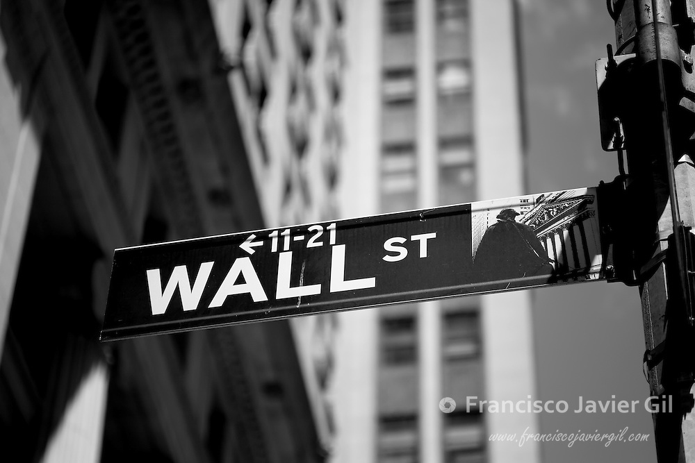 Wall street, New York, USA