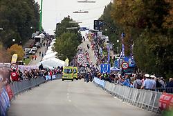 Finish during the Men´s Under 23 Road Race on day five of the UCI Road World Championships on September 23, 2011 in Copenhagen, Denmark. (Photo by Marjan Kelner / Sportida Photo Agency)
