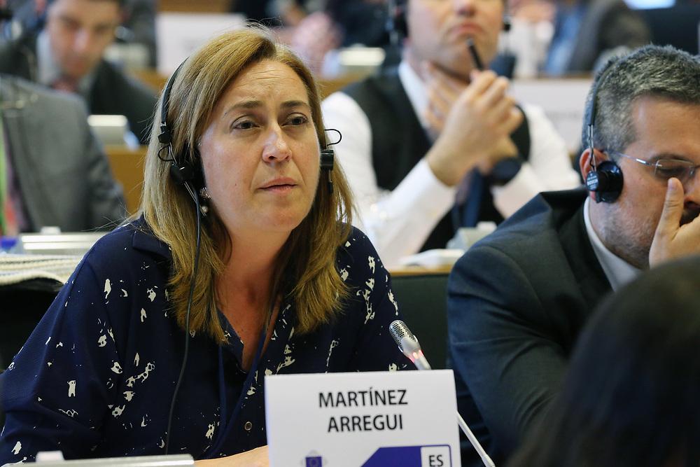 11 May 2017, 123rd Plenary Session of the European Committee of the Regions <br /> Belgium - Brussels - May 2017 <br /> <br /> MART&Iacute;NEZ ARREGUI, Bego&ntilde;a Consejera de Presidencia, Relaciones Institucionales y Acci&oacute;n Exterior del Gobierno de la Rioja,Spain<br /> <br /> &copy; European Union / Patrick Mascart