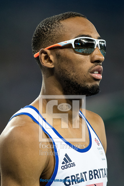 Matthew Hudson-Smith of Great Britain during the Men's 400m Final on day nine of the XXXI 2016 Olympic Summer Games in Rio de Janeiro, Brazil.<br /> Picture by EXPA Pictures/Focus Images Ltd 07814482222<br /> 14/08/2016<br /> *** UK &amp; IRELAND ONLY ***<br /> <br /> EXPA-GRO-160815-5333.jpg