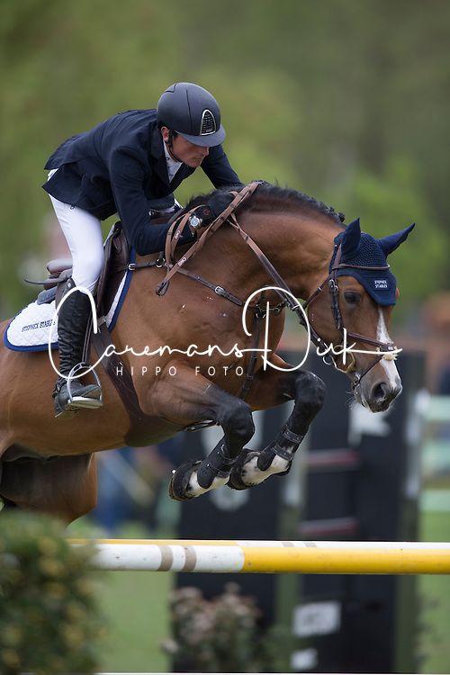 De Luca Lorenzo, (ITA), Balou de Coeur Joye <br /> Prijs Stephex<br /> Longings Spring Classic of Flanders - Lummen 2015<br /> © Hippo Foto - Dirk Caremans<br /> 30/04/15