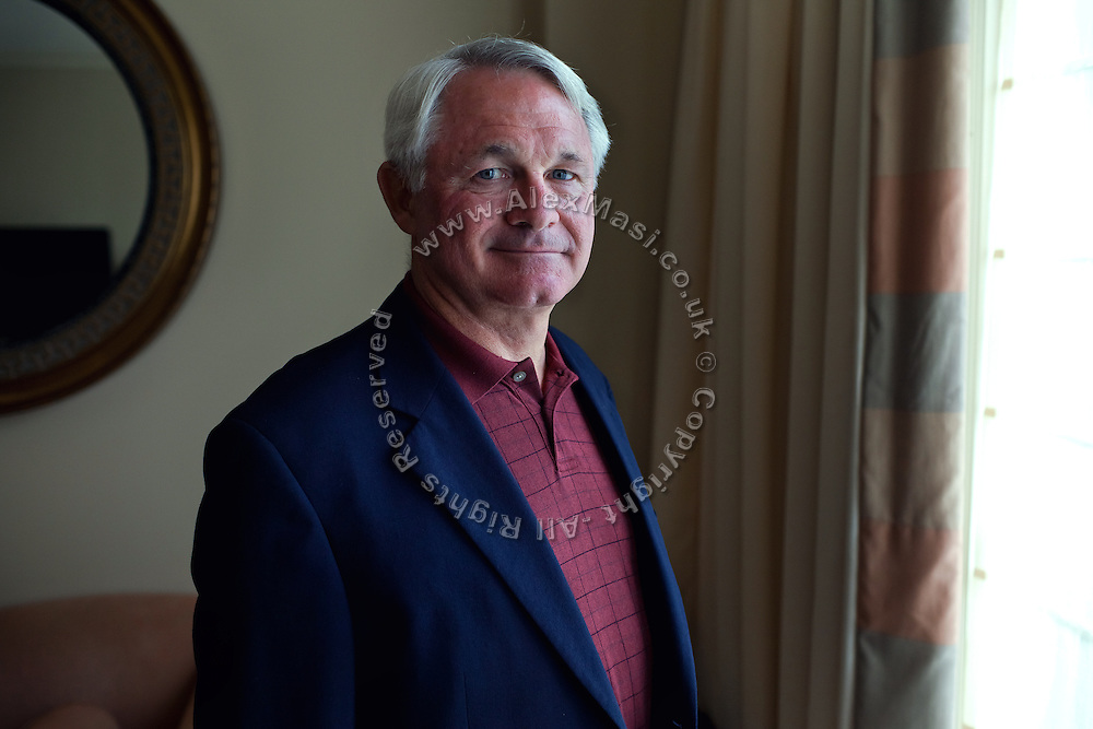 Thomas F. Metz, 63,.Lieutenant General US Army (retired) is portrayed at the Mandarin Oriental in Washington DC, USA. He was assigned the role of commander in Baghdad for the Joint Task Force, (JTF) and he oversaw all military operations in Iraq at the time, including the Battles for Fallujah in April and November 2004.