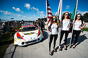 August 5-7, 2016 - Road America: Lamborghini grid girls
