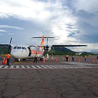 Aeropuerto Nacional Cacique Aramare en Puerto Ayacucho, estado Amazonas, Venezuela. ©Jimmy Villalta