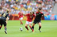 Fotball , EM , Norge - Tyskland 28.juli 2013 , kvinner ,  Sverige , Stockholm , Solna , europamesterskap, finale<br /> Caroline Graham Hansen<br /> Foto: Ole Marius Fjalsett