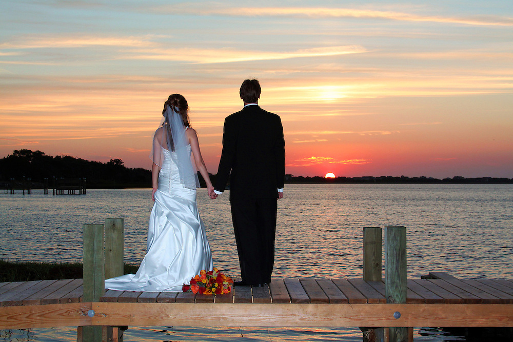 Sunset Wedding,Outer Banks NC, Tybee Island & Savannah GA, Bluffton & Hilton Head, SC
