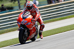 27.08.2010, Motor Speedway, Indianapolis, USA, MotoGP, Red Bull Indianapolis Grand Prix, im Bild Casey Stoner - Ducati team, EXPA Pictures © 2010, PhotoCredit: EXPA/ InsideFoto/ Semedia *** ATTENTION *** FOR AUSTRIA AND SLOVENIA USE ONLY!