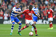 Nottingham Forest midfielder Mustafa Carayol (18) during the EFL Sky Bet Championship match between Nottingham Forest and Reading at the City Ground, Nottingham, England on 22 April 2017. Photo by Jon Hobley.