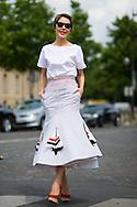 Ulyana Sergeenko at Dior Couture