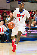 DALLAS, TX - NOVEMBER 26: Ryan Manuel #1 of the SMU Mustangs drives to the basket against the Texas Southern Tigers on November 26, 2014 at Moody Coliseum in Dallas, Texas.  (Photo by Cooper Neill/Getty Images) *** Local Caption *** Ryan Manuel