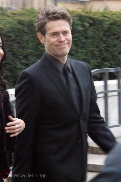 Willem Dafoe arrives at The Metropolitan Opera's 125th Anniversary Gala and Placido Domingo's 40th Anniversary Celebration underwritten by Yves Saint Laurent held at The Metropolitian Opera House, Lincoln Center on March 15, 2009 in New York City.