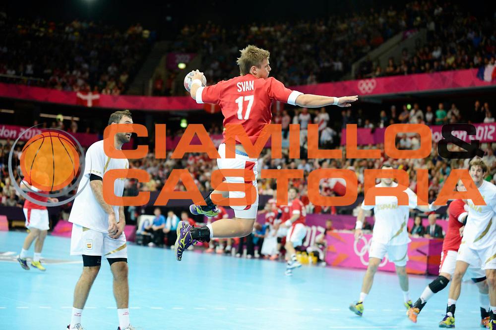 DESCRIZIONE : Handball Jeux Olympiques Londres <br /> GIOCATORE : SVAN Lasse DEN<br /> SQUADRA : Danemark <br /> EVENTO : Handball Jeux Olympiques<br /> GARA : <br /> DATA : 31 07 2012<br /> CATEGORIA : Jeux Olympiques<br /> SPORT : HANDBALL<br /> AUTORE : JF Molliere <br /> Galleria : France JEUX OLYMPIQUES 2012 Action<br /> Fotonotizia : Handball Jeux Olympiques Londres premier tour <br /> Predefinita :
