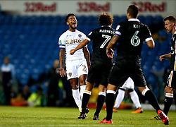 Liam Bridcutt of Leeds United cuts a frustrated figure - Mandatory by-line: Robbie Stephenson/JMP - 09/08/2017 - FOOTBALL - Elland Road - Leeds, England - Leeds United v Port Vale - Carabao Cup