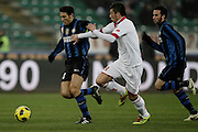 Bari (BA), 03-02-2011 ITALY - Italian Soccer Championship Day 23 - Bari VS Inter..Pictured: Zanetti (I).Photo by Giovanni Marino/OTNPhotos . Obligatory Credit