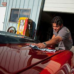 Jerry Segovia and his 73 Camaro