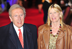 FILE PICTURE © Licensed to London News Pictures. 11/01/2012. London, England.David Frost  attends the UK Premiere of W.E at the Odeon Kensington London  Photo credit : ALAN ROXBOROUGH/LNP