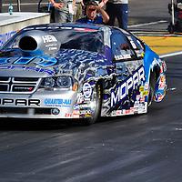 Allen Johnson at Full throttle drag racing series, National Hot Rod Association 2011