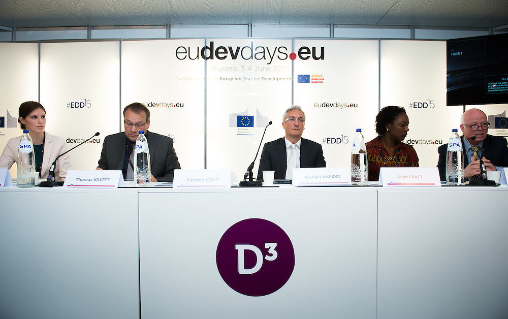 03 June 2015 - Belgium - Brussels - European Development Days - EDD - Urban - Megatrend urbanisation-Metropolitan governance as a chance for sustainable urban and regional development © European Union