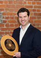Repro FREE: Paul Killoran, ExOrdo, Galway's Best Young Entrepreneur, IBYE 2016 Awarded by Local Enterprise Office Galway at the Portershed. <br /> Photo:Andrew Downes, xposure