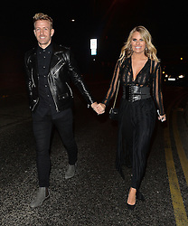 TOWIE star Danielle Armstrong and Daniel Spiller leaving the X Factor studios in London, UK. 04/12/2016<br /> BYLINE MUST READ : GOTCHAIMAGES.COM<br /> <br /> Copyright by © Gotcha Images Ltd. All rights reserved.<br /> Usage of this image is conditional upon the acceptance <br /> of Gotcha Images Ltd, terms and conditions available at<br /> www.gotchaimages.com