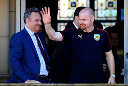 Burnley Manager Sean Dyche and chairman Mike Garlick - Mandatory by-line: Matt McNulty/JMP - 09/05/2016 - FOOTBALL - Burnley Town Hall - Burnley, England - Burnley FC Championship Trophy Presentation