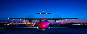 A brand new ATR 42-500 photographed at Orlando International Airport for Silver Airways.<br /> <br /> Created by aviation photographer John Slemp of Aerographs Aviation Photography. Clients include Goodyear Aviation Tires, Phillips 66 Aviation Fuels, Smithsonian Air & Space magazine, and The Lindbergh Foundation. Specialising in high end commercial aviation photography and the supply of aviation stock photography for advertising, corporate, and editorial use.