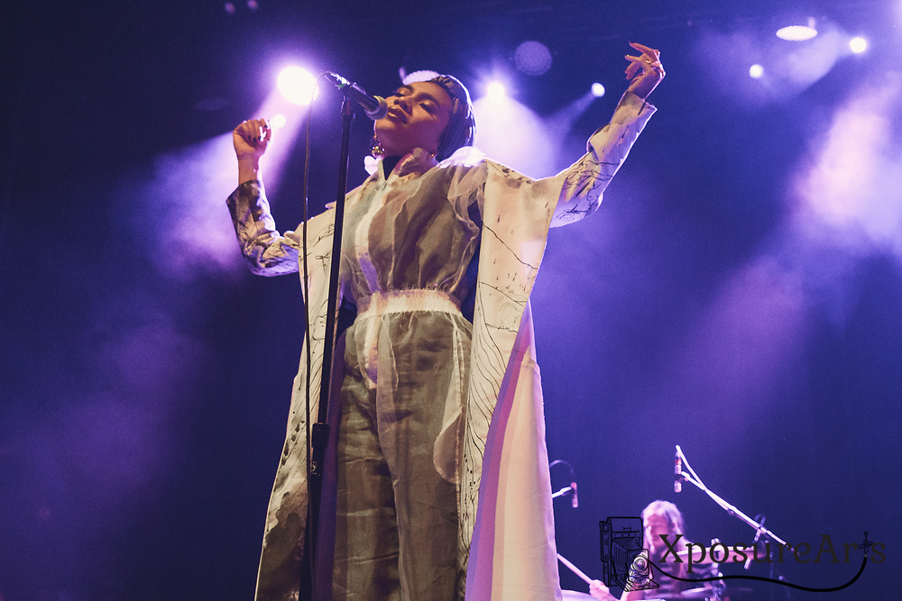 Yuna performs at the UC Theater in Berkeley, CA.