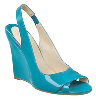 michael antonio high heel cyan wedge sandal