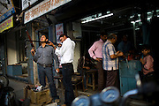 Street shots of north India. Photo by Suzanne Lee Gun Market, Lucknow, Uttar Pradesh,