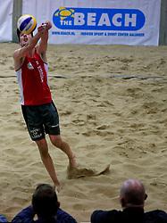 04-01-2020 NED: NK Beach volleyball Indoor, Aalsmeer<br /> Sven de Koe #2