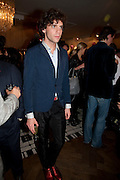 MIKA; , LANVIN PARTY. Savile Row. London. 11 November 2009.