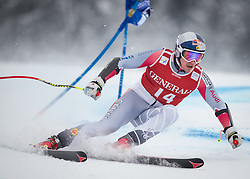 25.01.2013, Streif, Kitzbuehel, AUT, FIS Weltcup Ski Alpin, Super G, Herren, im Bild Erik Guay (CAN) // Erik Guay of Canada in action during mens SuperG of the FIS Ski Alpine World Cup at the Streif course, Kitzbuehel, Austria on 2013/01/25. EXPA Pictures © 2013, PhotoCredit: EXPA/ Johann Groder