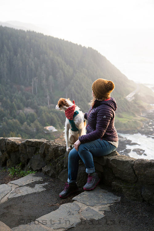 Cape Perpetua Scenic Area, Oregon.