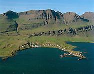 Breiðdalsvík loftmynd.Breiddalsvik aerial