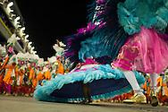 RIO DE JANEIRO, Brazil - March 07 of 2011: Samba dancers in Rio de Janeiro's 2011 Carnival, at Marquês de Sapucaí avenue.  (photo: Caio Guatelli)