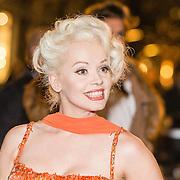 NLD/Amsterdam/20160929 - VIP opening 90 Jaar Marilyn, namaak Marrilyn