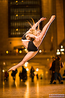 Dance As Art The New York City Photography Project Grand Central Series with dancer Christina Barr