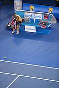 Victoria Azarenka (BLR). Day 13. Womens Singles Final. Australian Open Grand Slam Tennis Championship. Melbourne Olympic Park, Melbourne, Victoria, Australia. 26/01/2013. Photo By Lucas Wroe