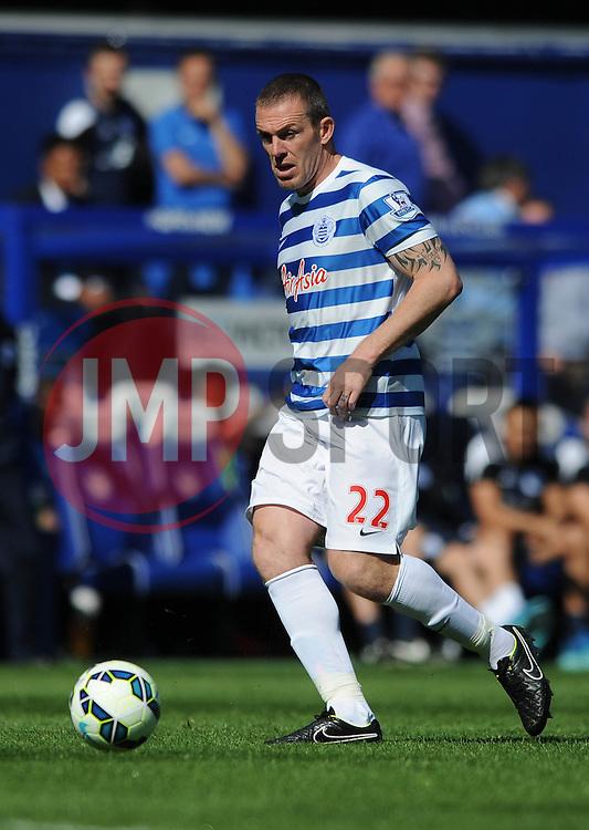 Queens Park Rangers' Richard Dunne - Photo mandatory by-line: Dougie Allward/JMP - Mobile: 07966 386802 - 16/05/2015 - SPORT - football - London - Loftus Road - QPR v Newcastle United - Barclays Premier League