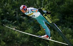 Primoz Roglic of Slovenia at FIS Continental cup Ski-jumping Summer Kranj, on July 6, 2008, Kranj, Slovenia. (Photo by Vid Ponikvar / Sportal Images)<br /> <br /> / Sportida)