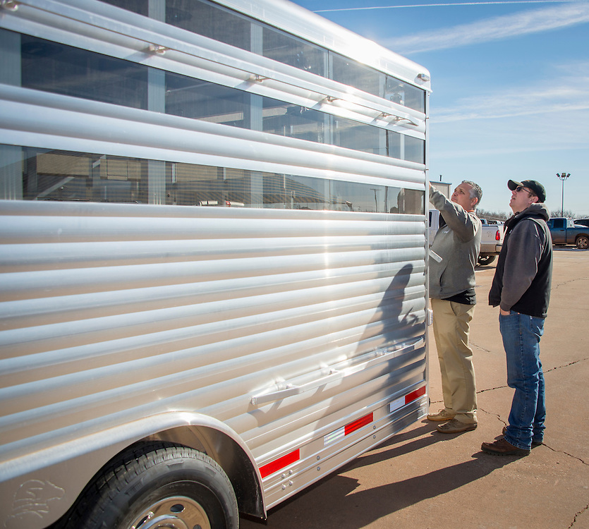 3 Trailers Provided For Use In Animal Science Sheep Swine Equine