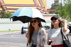 June 15, 2017 - Thailand - Tourists are walking outside the Grand Palace on June 15, 2016. (Credit Image: © Vichan Poti/Pacific Press via ZUMA Wire)