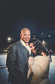 Alesha & Dwayne's stunning Spencer's at the Waterfront winter wedding