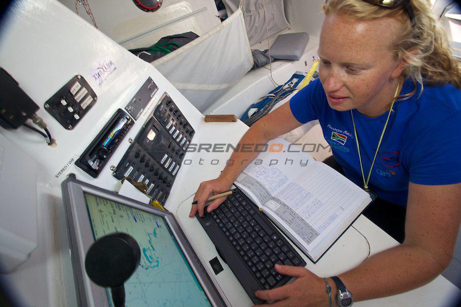 GLOBAL OCEAN RACE 2011-2012.