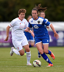 Caroline Weir of Bristol Academy Women - Mandatory by-line: Paul Knight/JMP - Mobile: 07966 386802 - 13/09/2015 -  FOOTBALL - Stoke Gifford Stadium - Bristol, England -  Bristol Academy Women v Liverpool Ladies FC - FA WSL Continental Tyres Cup