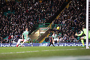 Dundee's Marcus Haber curls home his side's consolation goal - Celtic v Dundee in the Ladbrokes Scottish Premiership at Celtic Park, Glasgow. Photo: David Young<br /> <br />  - © David Young - www.davidyoungphoto.co.uk - email: davidyoungphoto@gmail.com
