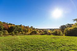 A hilltop field in Amesbury, Massachusetts.