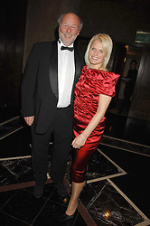 CHRIS & JANICE WRIGHT at the 17th annual Cartier Racing Awards 2007 held at the Four Seasons Hotel, Hamilton Place, London on 14th November 2007.<br />